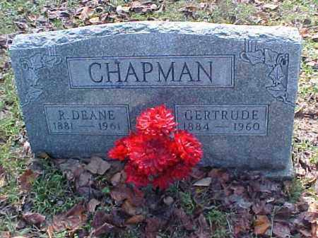 CHAPMAN, GERTRUDE - Meigs County, Ohio | GERTRUDE CHAPMAN - Ohio Gravestone Photos