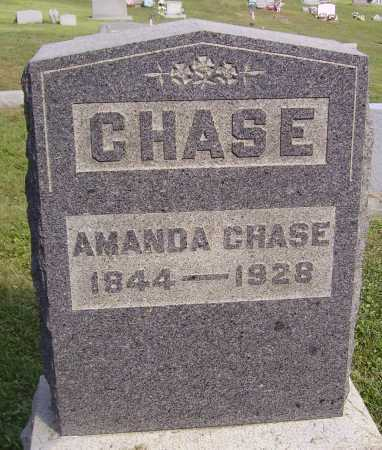 WILLIAMS CHASE, AMANDA - Meigs County, Ohio | AMANDA WILLIAMS CHASE - Ohio Gravestone Photos