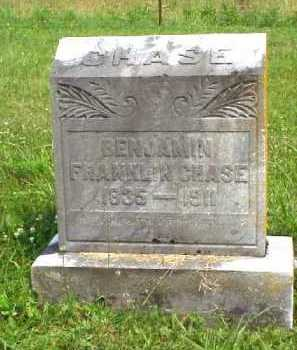 CHASE, BENJAMIN FRANKLIN - Meigs County, Ohio | BENJAMIN FRANKLIN CHASE - Ohio Gravestone Photos