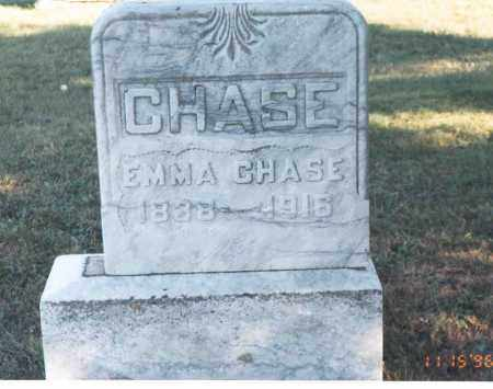 CHASE, EMMA - Meigs County, Ohio | EMMA CHASE - Ohio Gravestone Photos