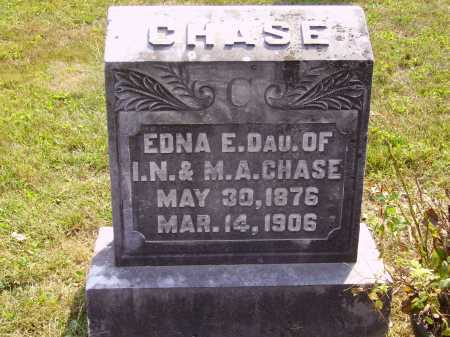 CHASE, EDNA E. - Meigs County, Ohio | EDNA E. CHASE - Ohio Gravestone Photos