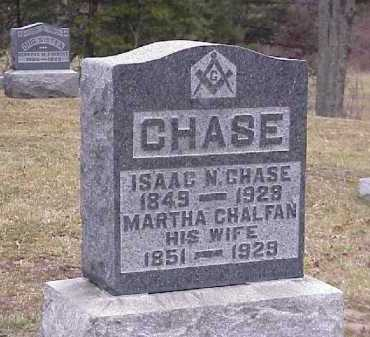 CHASE, ISAAC N. - Meigs County, Ohio | ISAAC N. CHASE - Ohio Gravestone Photos