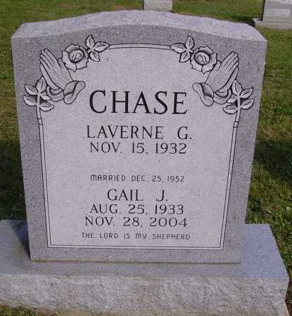 CHASE, LAVERNE G. - Meigs County, Ohio | LAVERNE G. CHASE - Ohio Gravestone Photos