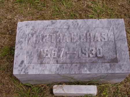 CHASE, MARTHA E. - Meigs County, Ohio | MARTHA E. CHASE - Ohio Gravestone Photos