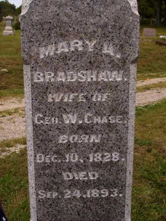 CHASE, MARY A. - Meigs County, Ohio | MARY A. CHASE - Ohio Gravestone Photos