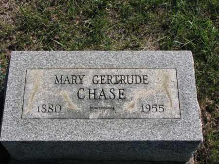 CHASE, MARY GERTRUDE - Meigs County, Ohio   MARY GERTRUDE CHASE - Ohio Gravestone Photos