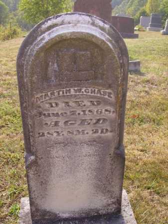 CHASE, MARTIN W. - Meigs County, Ohio | MARTIN W. CHASE - Ohio Gravestone Photos