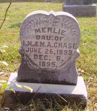 CHASE, MERLIE - Meigs County, Ohio | MERLIE CHASE - Ohio Gravestone Photos
