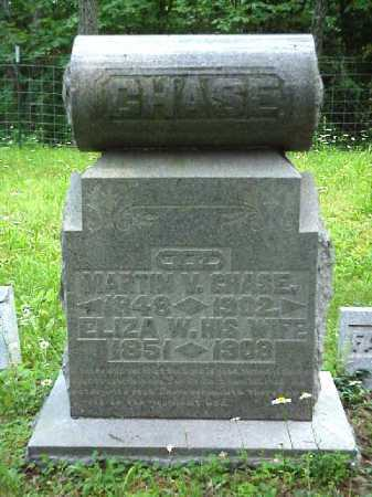 CHASE, ELIZA W. - Meigs County, Ohio | ELIZA W. CHASE - Ohio Gravestone Photos