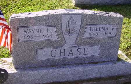 CHASE, WAYNE H. - Meigs County, Ohio | WAYNE H. CHASE - Ohio Gravestone Photos