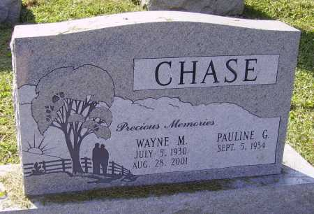 CHASE, WAYNE - Meigs County, Ohio | WAYNE CHASE - Ohio Gravestone Photos