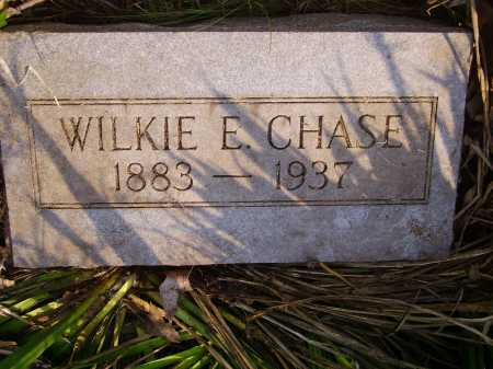 CHASE, WILKIE E. - Meigs County, Ohio | WILKIE E. CHASE - Ohio Gravestone Photos