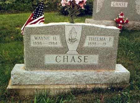 CHASE, THELMA - Meigs County, Ohio | THELMA CHASE - Ohio Gravestone Photos