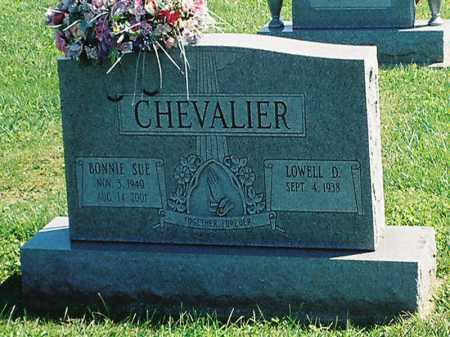 CHEVALIER, BONNIE SUE - Meigs County, Ohio | BONNIE SUE CHEVALIER - Ohio Gravestone Photos
