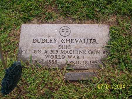 CHEVALIER, DUDLEY - Meigs County, Ohio | DUDLEY CHEVALIER - Ohio Gravestone Photos