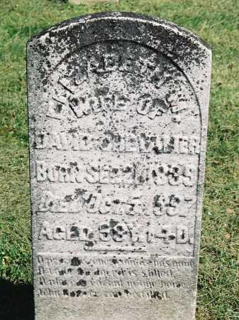 CHEVALIER, ELIZABETH - Meigs County, Ohio | ELIZABETH CHEVALIER - Ohio Gravestone Photos