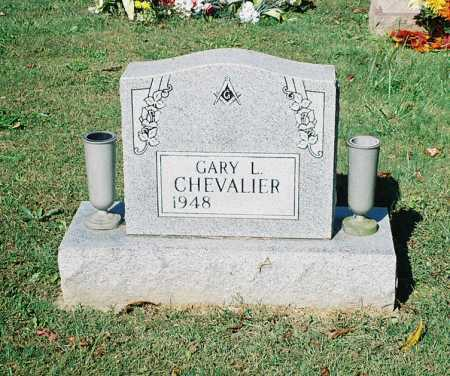 CHEVALIER, GARY L. - Meigs County, Ohio | GARY L. CHEVALIER - Ohio Gravestone Photos