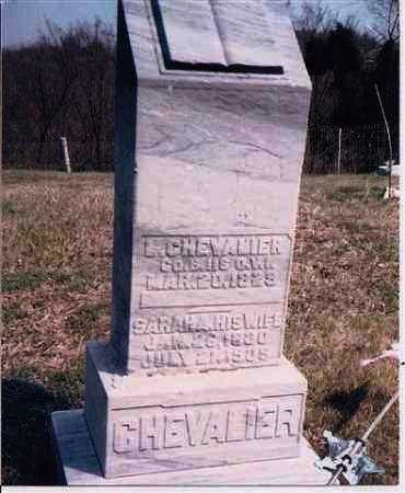 CHEVALIER, SARAH - Meigs County, Ohio | SARAH CHEVALIER - Ohio Gravestone Photos