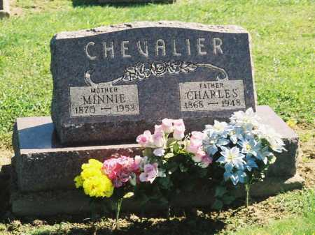 SMITH CHEVALIER, MINNIE - Meigs County, Ohio | MINNIE SMITH CHEVALIER - Ohio Gravestone Photos