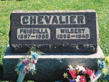 CHEVALIER, PRISCILLA - Meigs County, Ohio | PRISCILLA CHEVALIER - Ohio Gravestone Photos