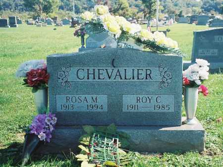 CHEVALIER, ROY C. - Meigs County, Ohio | ROY C. CHEVALIER - Ohio Gravestone Photos