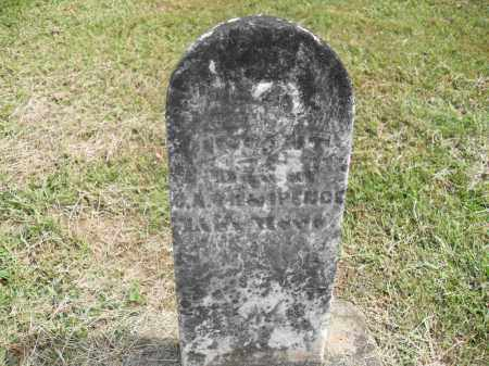 ARCHER, INFANT - Meigs County, Ohio | INFANT ARCHER - Ohio Gravestone Photos