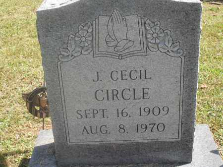 CIRCLE, J. CECIL - Meigs County, Ohio | J. CECIL CIRCLE - Ohio Gravestone Photos