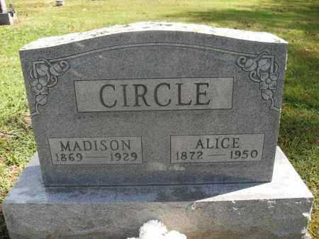 CIRCLE, ALICE - Meigs County, Ohio | ALICE CIRCLE - Ohio Gravestone Photos