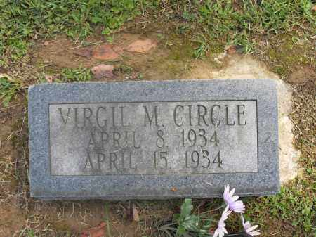 CIRCLE, VIRGIL M. - Meigs County, Ohio | VIRGIL M. CIRCLE - Ohio Gravestone Photos