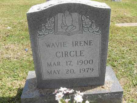 CIRCLE, WAVIE IRENE - Meigs County, Ohio   WAVIE IRENE CIRCLE - Ohio Gravestone Photos