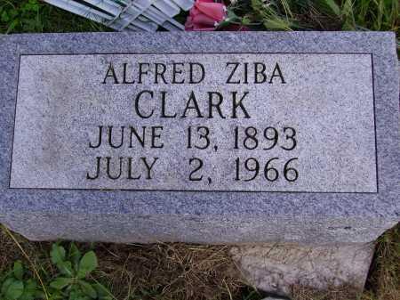 CLARK, ALFRED ZIBA - Meigs County, Ohio | ALFRED ZIBA CLARK - Ohio Gravestone Photos