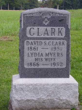 CLARK, LYDIA - Meigs County, Ohio | LYDIA CLARK - Ohio Gravestone Photos