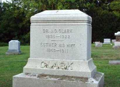 CLARK, ESTHER - Meigs County, Ohio | ESTHER CLARK - Ohio Gravestone Photos