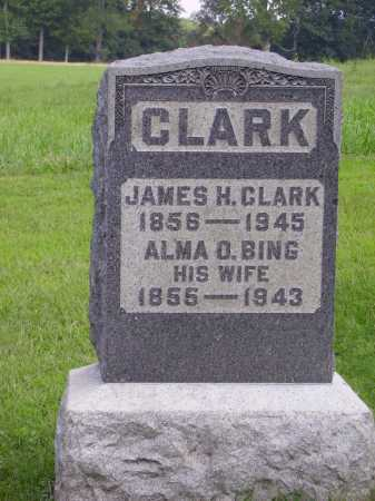 CLARK, ALMA O. - Meigs County, Ohio | ALMA O. CLARK - Ohio Gravestone Photos