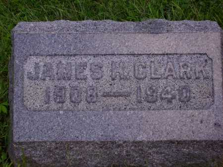 CLARK, JAMES H. - Meigs County, Ohio | JAMES H. CLARK - Ohio Gravestone Photos