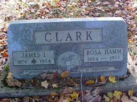 CLARK, JAMES I. - Meigs County, Ohio | JAMES I. CLARK - Ohio Gravestone Photos