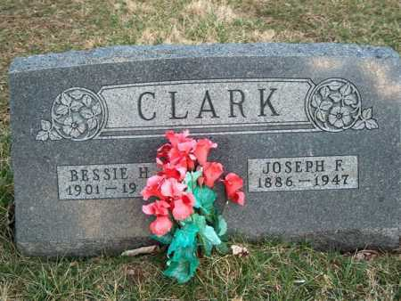 CLARK, BESSIE H. - Meigs County, Ohio | BESSIE H. CLARK - Ohio Gravestone Photos