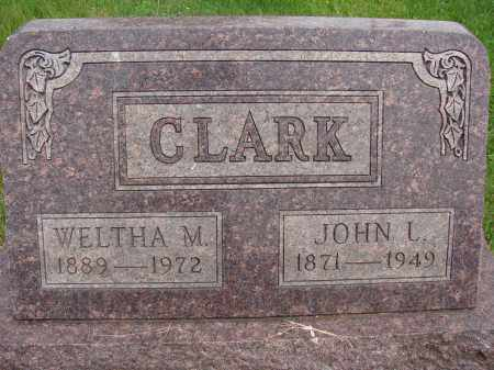 CLARK, WELTHA M - Meigs County, Ohio | WELTHA M CLARK - Ohio Gravestone Photos