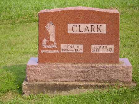CLARK, LENA V. - Meigs County, Ohio | LENA V. CLARK - Ohio Gravestone Photos
