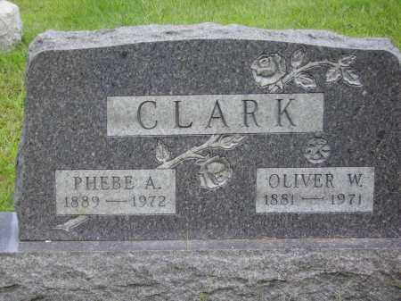 CLARK, PHEBE A. - Meigs County, Ohio | PHEBE A. CLARK - Ohio Gravestone Photos