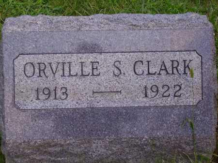 CLARK, ORVILLE S. - Meigs County, Ohio | ORVILLE S. CLARK - Ohio Gravestone Photos