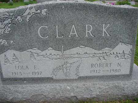 CLARK, LOLA E - Meigs County, Ohio | LOLA E CLARK - Ohio Gravestone Photos
