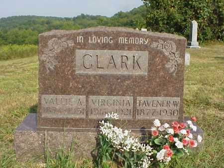 CLARK, VALLIE A. - Meigs County, Ohio | VALLIE A. CLARK - Ohio Gravestone Photos