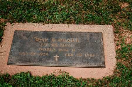 CLARK, WAY F. - Meigs County, Ohio   WAY F. CLARK - Ohio Gravestone Photos
