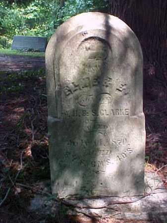 CLARKE, ELMER E. - Meigs County, Ohio | ELMER E. CLARKE - Ohio Gravestone Photos
