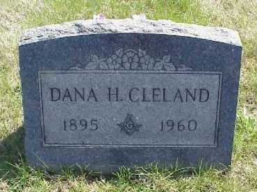 CLELAND, DANA H. - Meigs County, Ohio | DANA H. CLELAND - Ohio Gravestone Photos
