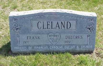CLELAND, DELORES - Meigs County, Ohio | DELORES CLELAND - Ohio Gravestone Photos