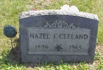 CLELAND, HAZEL I. - Meigs County, Ohio | HAZEL I. CLELAND - Ohio Gravestone Photos