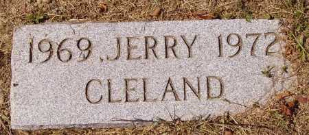 CLELAND, JERRY - Meigs County, Ohio | JERRY CLELAND - Ohio Gravestone Photos