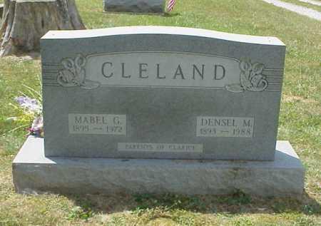 CLELAND, MABEL G. - Meigs County, Ohio   MABEL G. CLELAND - Ohio Gravestone Photos